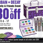URBAN DECAY FRIENDS & FAMILY SALE!
