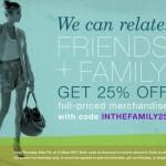 SHOPBOP F&F 25% OFF SALE!