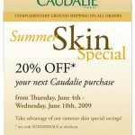 Caudalie Summer Sale!