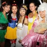 Halloween Night Fun as Greek Goddess