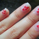 Nail Care & Heart Bouquet Nail Tutorial