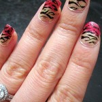 Chinese New Year Nail Tutorial: Year of the Tiger!