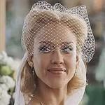 Jessica Alba (Susan Storm) Spring Wedding Look