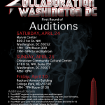 Kollaboration DC Auditions!