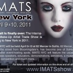 IMATS 2011 to NYC – Apr 9th & 10th!!