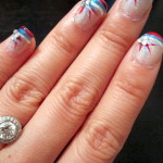 Nail Tutorial: 4th of July!!