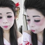 Geisha Halloween Tutorial