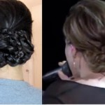 Kelly Clarkson's CMA Updo Hair Tutorial