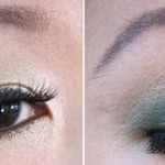 Holiday Look: Gold & Green w/ Simple Knot Updo