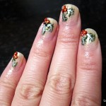 Deck the Nails with Hollyberries Tutorial