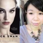 Black Swan Ballerina Updo Hair Tutorial