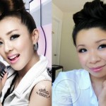 2NE1's Makeup and Updo Tutorial