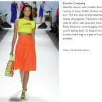 My Top Three Spring Trends for 2012