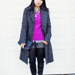 Fashion Scores: Fuschia Sweater & Tweed Shorts