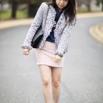 Chanel-esque Lookbook: Tweed & Pom Poms