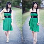 Pleats to Meet You, Miss Kelly Green