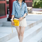 Memorial Day Lookbook: Chambray & Crochet