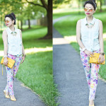 Summer Prints   Minty Cool with Florals