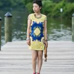"""Neon Lookbook: Sequins & """"Carpet"""""""