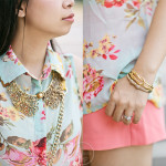 Casual Sunday Florals: Mint & Coral