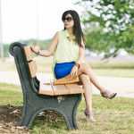 Summer Brights: Neon Sheers & Cobalt Blue