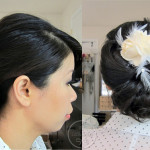 Spring Bridal Low Bow Updo Tutorial