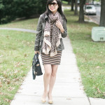 Fall Neutrals: Stripes & Leopards