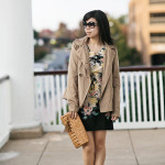Unexpected: Floral Shift Dress