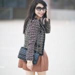 Inspired: Tweed & Pleather