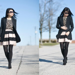 Texture: Floral Lace & Bold Stripes