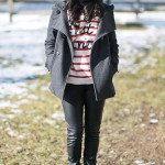 Parisian Chic: Striped & Beret