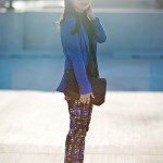 Black & Blue: Lace & Geo Prints