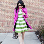 Spring Fever: Fuschia & Apple Green