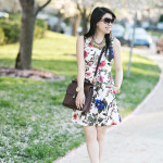 Garden Party: Vintage Willis & Floral Dress