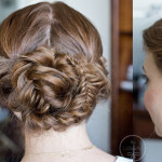 Summer Bridal Fishtail Updo Tutorial