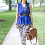 Grecian: Asymmetrical Drapes & Printed Pants