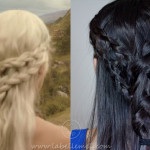 Game Of Thrones: Khaleesi/Princess Daenerys Casual Braid Tutorial
