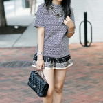 Mixed: Mod Geo Top & Floral Printed Shorts