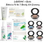 Giveaway of the Month: Boots Botanics & No.7 Beauty Kit