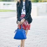 Dreaming of Paris // Embroidered Blazer + Sahara Tribal Skirt