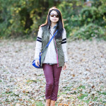 Fall Casual | Burgundy & Hunter Green