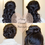 4 Valentine's Day Casual Hairstyles