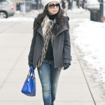 Chicago Casual Chic | Faux Fur Vest & Layered Necklace