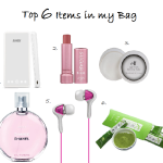 Top 6 Essential Items to Have in My Bag
