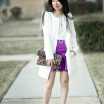 Double Flounce | Ruffle Sleeve Blouse + Skirt