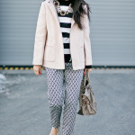 Rosy | Black & White Mixed Prints + Neutrals