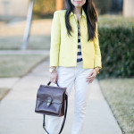 Business Casual Friday | Spring Whites, Stripes & Brights