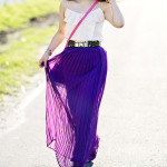 Under the Bay Sun| Ruffled Tank + Maxi Skirt