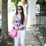 Color Me Happy | Malabar Pink + Violet Florals