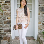 Summer Neutrals | Gold Lace + Skinny Whites